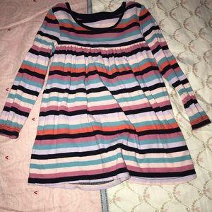 Girls tunic long sleeve top mini dress